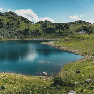 Wandern in Lech am Arlberg Formarinsee, © Lech Zürs Tourismus