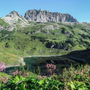 Wandern in Lech am Arlberg Formarinsee©LechZuersTourismus