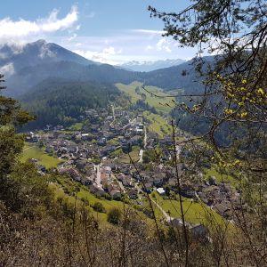 Blick auf das Trudner Dorf (c) Karmen Nahberger