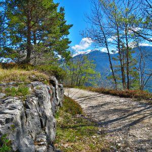 Rundwanderweg im Naturpark Trudner Hornn (c) Karmen Nahberger
