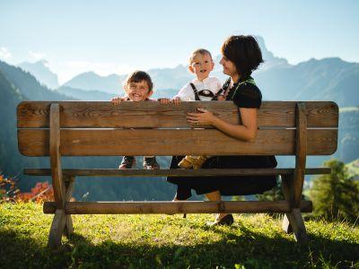 Kinder Dolomiten Panorama
