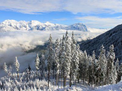 Winterlandschaft Südtirol, pixabay