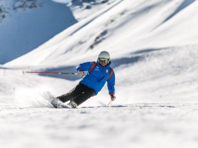 Skifahren, Lech